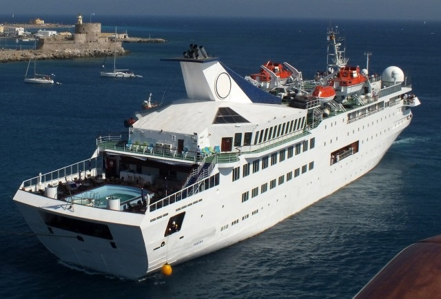 compact luxury cruise ship for sale
