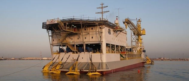 Tender Drilling Barge available in Tenerife