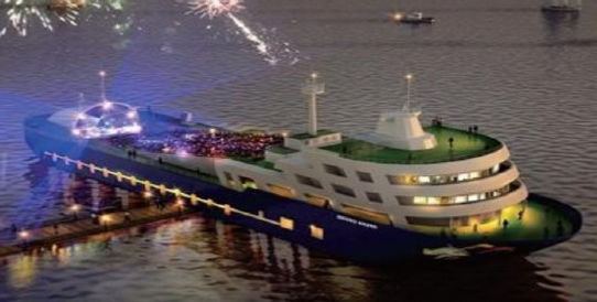 Theater & Event Barge SOLD in Korea