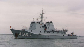 Former Belgian Minesweeper for Sale