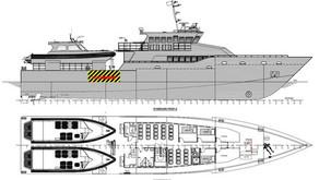 New Patrol Vessels with 2 interceptors