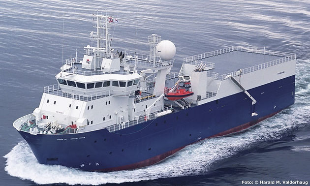 SEISMIC RESEARCH VESSEL FOR SALE OR CHARTER
