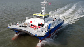 Crew Transfer Vessel (CTV) Swath Design for Sale in Germany