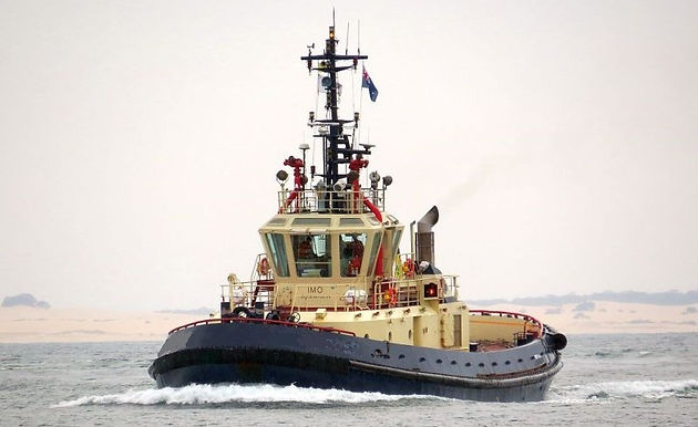 Voith Schneider Escort Tug available in the ME