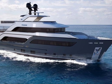 Compact Long Range Superyacht