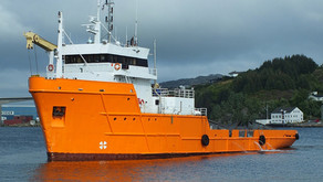 Offshore Carrier with Crane for Sale in Norway