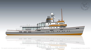 55m Icebreaker Yacht Conversion