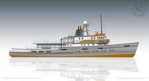 55m Icebreaker Yacht Conversion