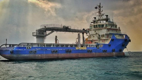 Modern DP2 Supply Vessel with Crane for Sale in the Med