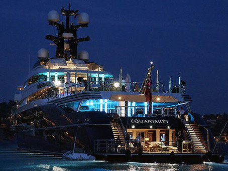 Oceanco EQUANIMITY still open for sale with YachtsUnlimited™