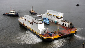 Large Hovercraft Barge for Sale in the UK