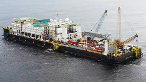 Accommodation Work Barge for up to 1000pax