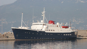 Small Ice Class Cruise Ship, Accommodation vessel for sale