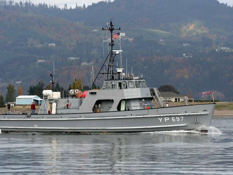 US Navy ex.Training & Research Vessel DAUNTLESS for sale at $199,000