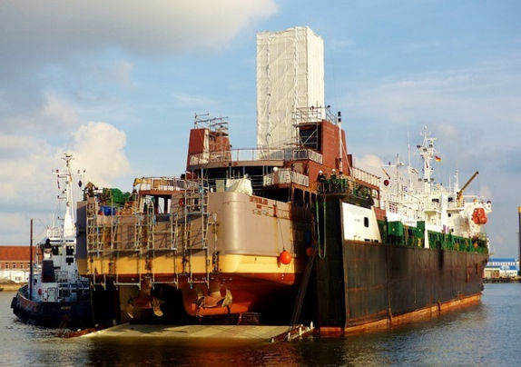 Semi-Submersible MPP vessel for sale (small Dock Express)