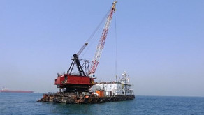 Accommodation & Crane Barge for sale in UAE