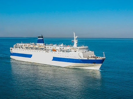 Night Ferry for Sale, can convert to Hospital Ship