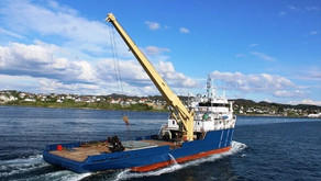 Small MPP Offshore Carrier with Crane for Sale in Norway