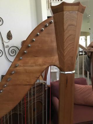 Pratt Princessa Lever Harp For Sale