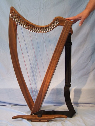 Walnut Triplett Christina Harp For Sale