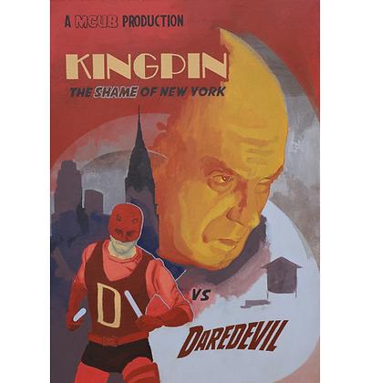 Kingpin the shame of New York vs Daredevill, 2020 - Danilo Ribeiro
