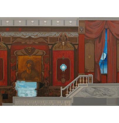 Castlevania (versão 1), 2013 - Danilo Ribeiro