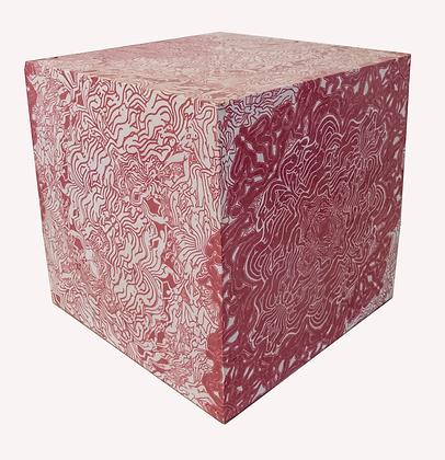 Cubo de lambe-lambe rosa, 2018 - Fernando de La Rocque