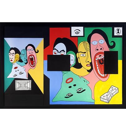 O grito, 2018 - Victor Arruda