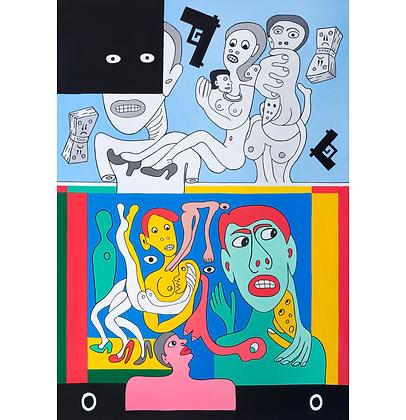 Duas famílias, 2019 - Victor Arruda