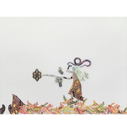 Mulher com serpente - Malu Saddi