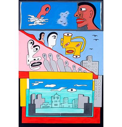 Homenagem aos surrealistas, 2017 - Victor Arruda