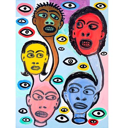Cabeça e olhos, 2015 - Victor Arruda