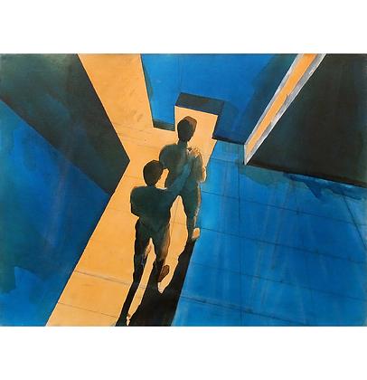 Atrás de você! (estudo 2), 2013 - Danilo Ribeiro