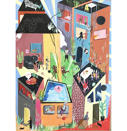 Rua Marcia Leite Vidigal, 2016 - Zoé Dubus