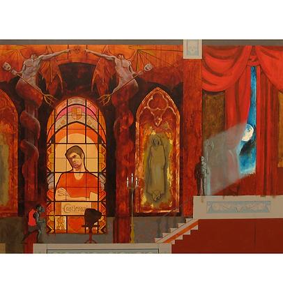 Castlevania (versão 2), 2014 - Danilo Ribeiro