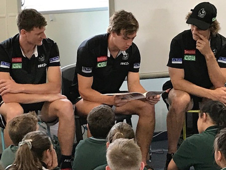 Collingwood Football Club visit