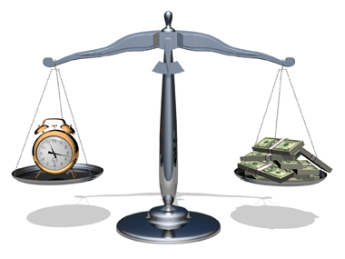 Is Time really Money?