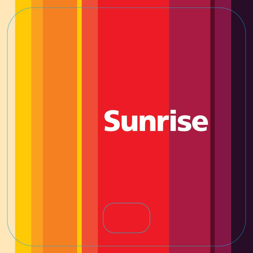 Sunrise 70.2 x 70.2