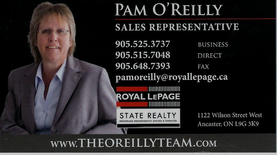 Pam O'Reilly (The O'Reilly Team)
