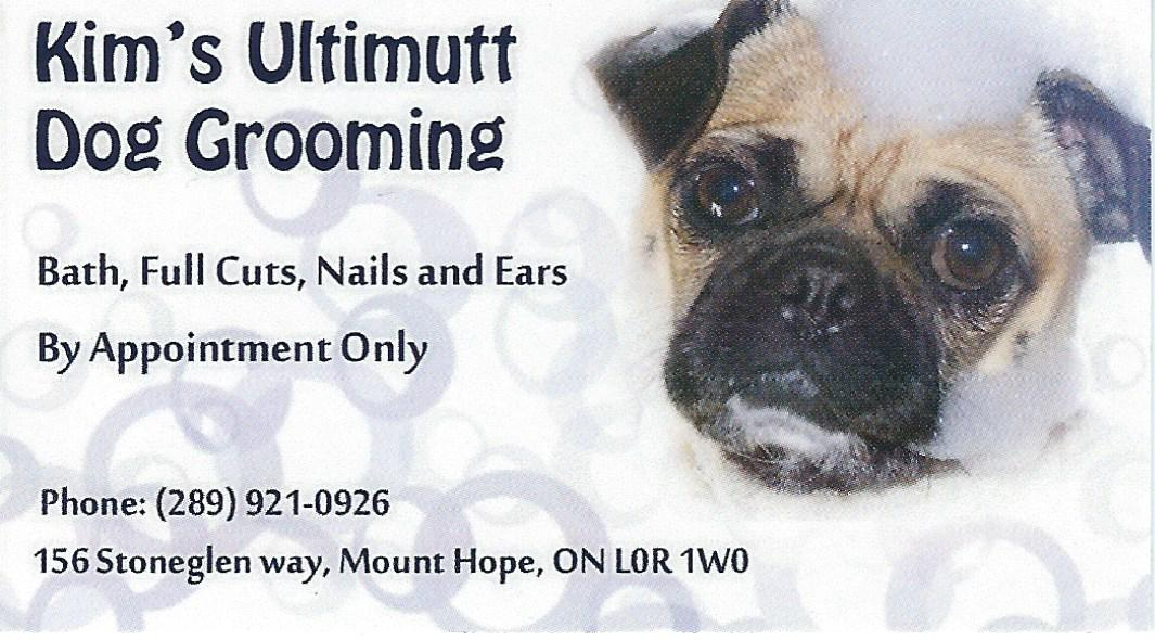 Kim's Ultimutt Dog Grooming