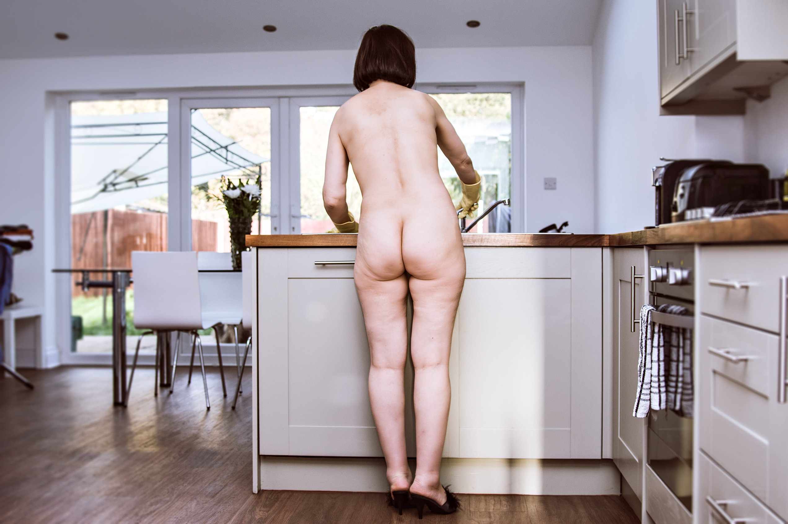 House Cleaning In The Nude 80