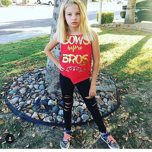 Bows Before Bros Tee