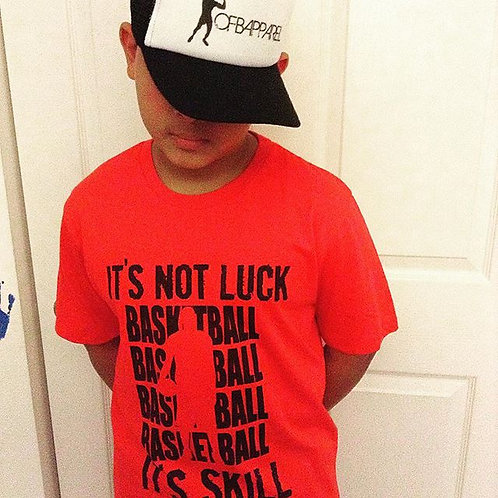 It's Not Luck Its Skill Tee
