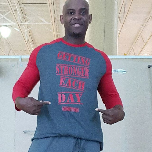 Getting Stronger Each Day Tee