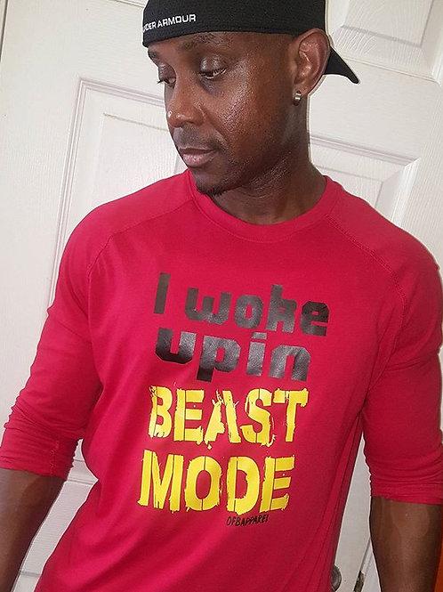 I Woke Up In Beast Mode Tee