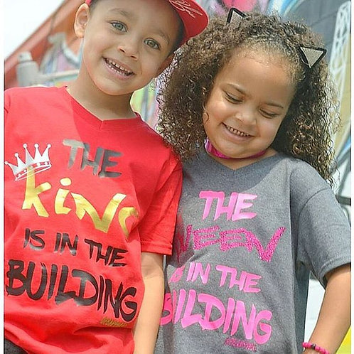 The King/Queen is in the building tee