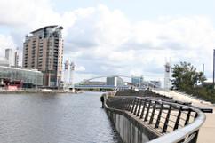 Lowry Bridge from Waterside