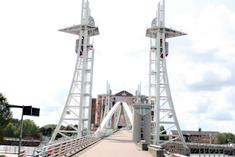 Lowry Bridge, (Salford Quays lift bridge or Salford Quays Millennium footbridge)