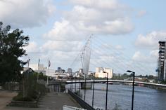 Footbridge View From Museum
