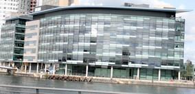 BBC Television Centre Media city,  home of BBC Breakfast